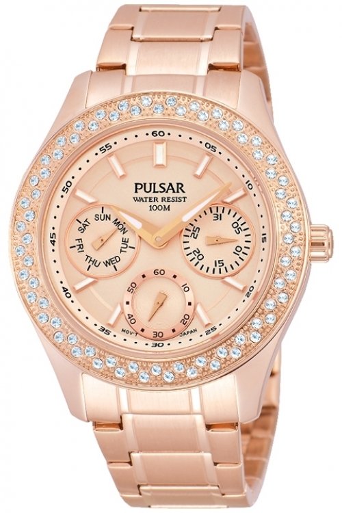 Image of  			   			  			   			  Ladies Pulsar Dress Watch PP6120X1