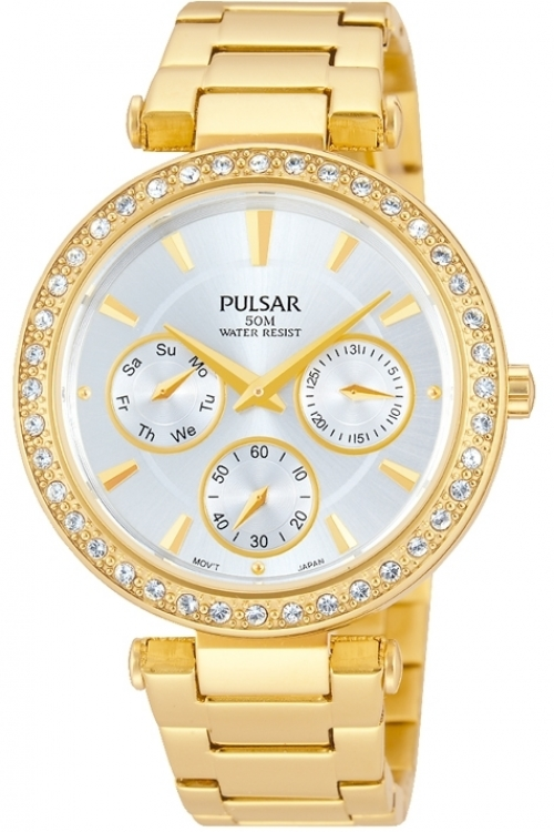 Image of  			   			  			   			  Ladies Pulsar Dress Watch PP6160X1