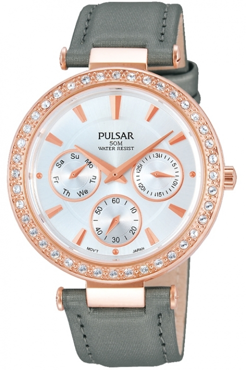 Image of  			   			  			   			  Ladies Pulsar Dress Watch PP6166X1