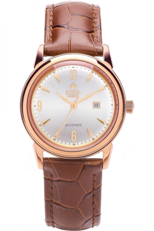 Image of            Ladies Royal London Automatic Watch 21174-03
