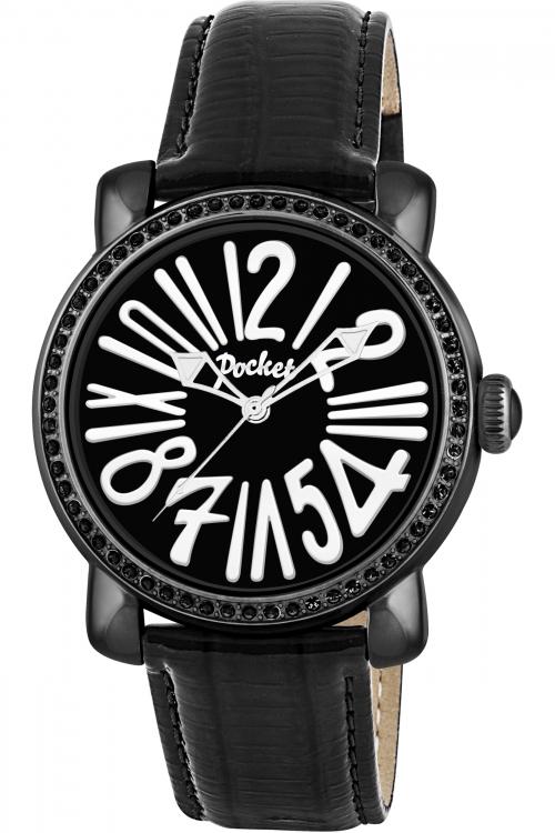 Ladies Pocket-Watch Rond Crystal Medio Watch PK2018