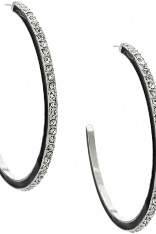 Lipsy Jewellery Hoop Earrings JEWEL LPJ-5703