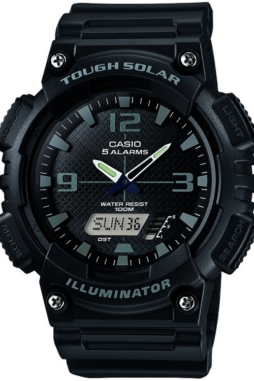 Image of            Mens Casio Casio Collection Alarm Chronograph Watch AQ-S810W-1A2VEF