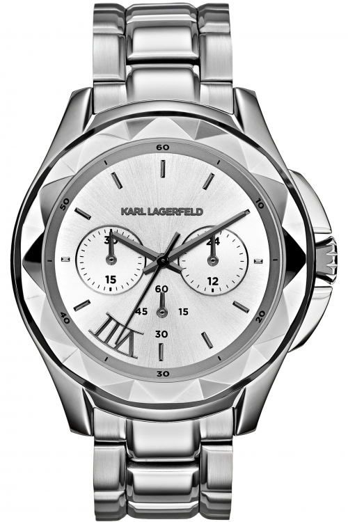 Image of  			   			  			   			  Ladies Karl Lagerfeld Karl 7 Chronograph Watch KL1048
