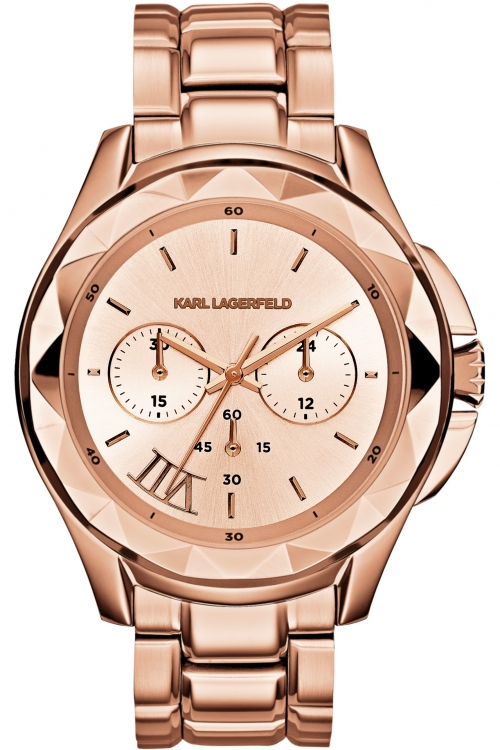 Image of  			   			  			   			  Ladies Karl Lagerfeld Karl 7 Chronograph Watch KL1049
