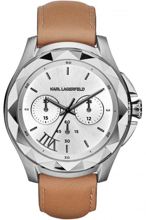 Image of  			   			  			   			  Ladies Karl Lagerfeld Karl 7 Chronograph Watch KL1051