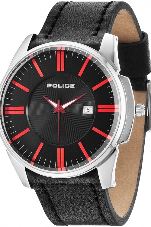 Image of Mens Police Governor Watch 14384JS/02