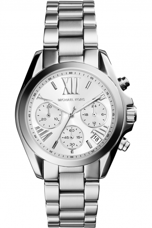 Image of            Ladies Michael Kors Bradshaw Chronograph Watch MK6174