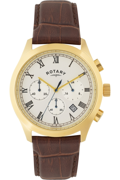 Mens Rotary Exclusive Chronograph Watch GS00282/01