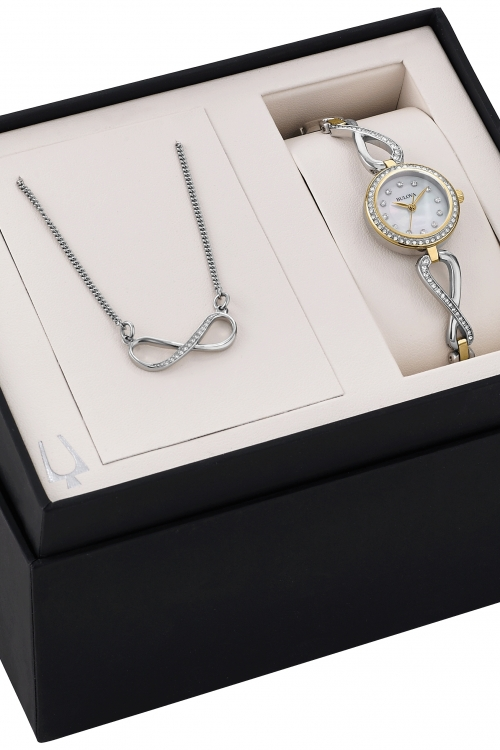 Ladies Bulova Gift Set Watch 98X109