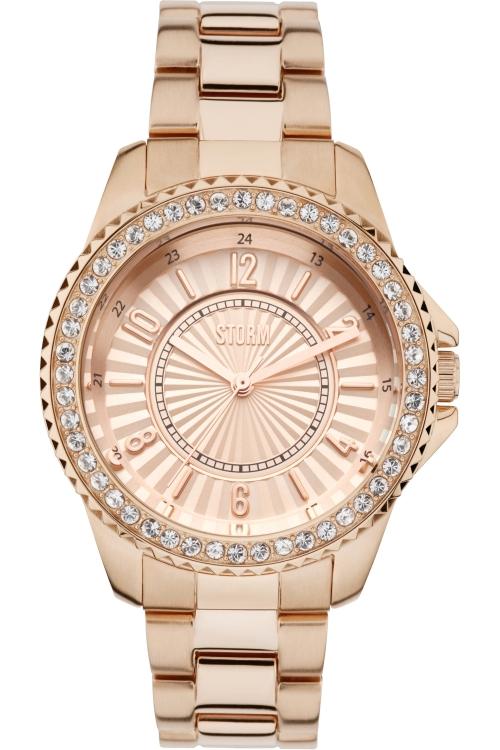 Image of            Ladies STORM Zirona Crystal Watch ZIRONA-CRYSTAL-ROSE-GOLD