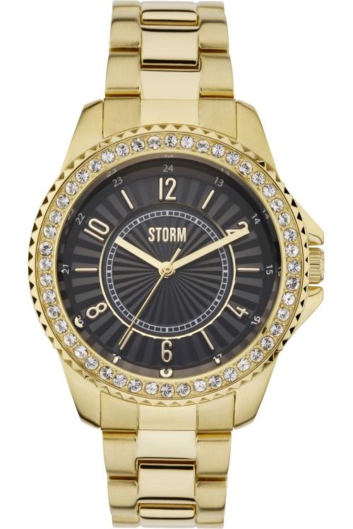 Image of            Ladies STORM Zirona Crystal Watch ZIRONA-CRYSTAL-GOLD