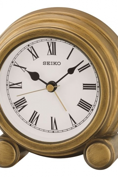 Seiko Clocks Mantel Alarm Clock QXE052G