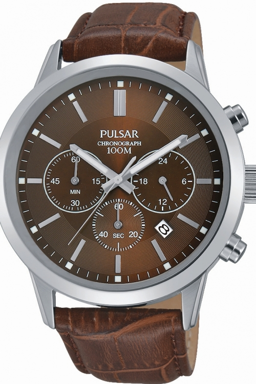 Mens Pulsar Chronograph Watch PT3739X1