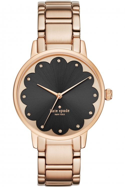 Image of            Ladies Kate Spade New York Gramercy Scalloped Watch KSW1044