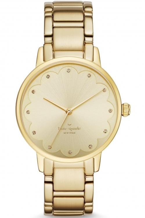 Image of Ladies Kate Spade New York Gramercy Scalloped Watch KSW1047
