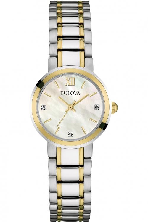 Ladies Bulova Diamond Watch 98P151