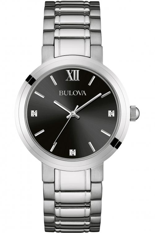 Mens Bulova Diamond Watch 96D124
