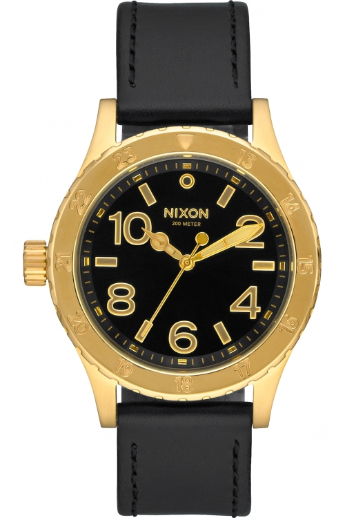 Image of  			   			  			   			  Ladies Nixon THE 38-20 LEATHER Watch