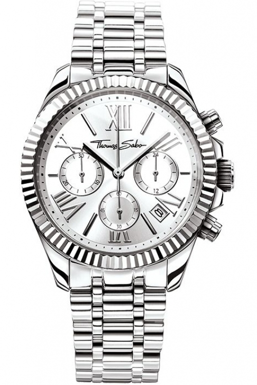 Image of  			   			  			   			  Ladies Thomas Sabo Divine Chronograph Watch