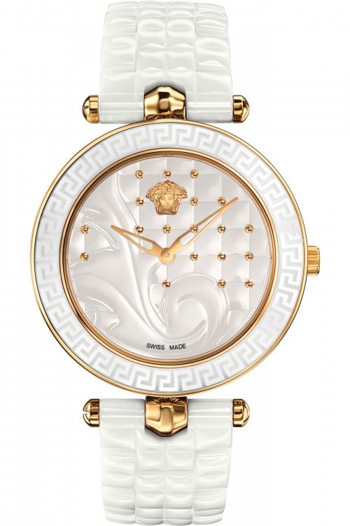 Image of Ladies Versace Vanitas Ceramic 40 Mm Watch VAO030016