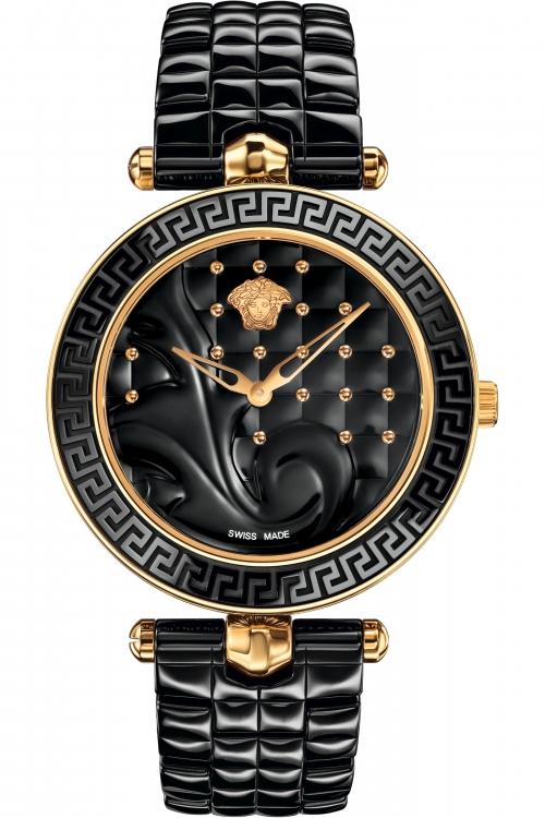 Image of            Ladies Versace Vanitas Ceramic 40 Mm Watch VAO040016