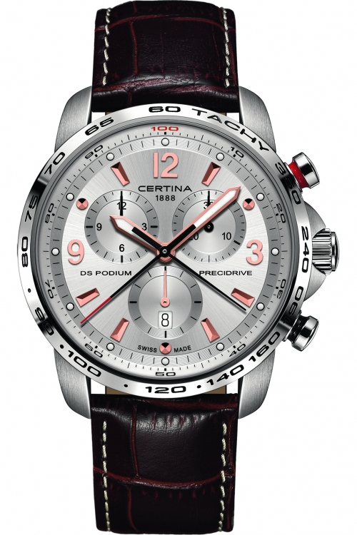 Image of  			   			  			   			  Mens Certina DS Podium Precidrive Chronograph Watch C0016471603701