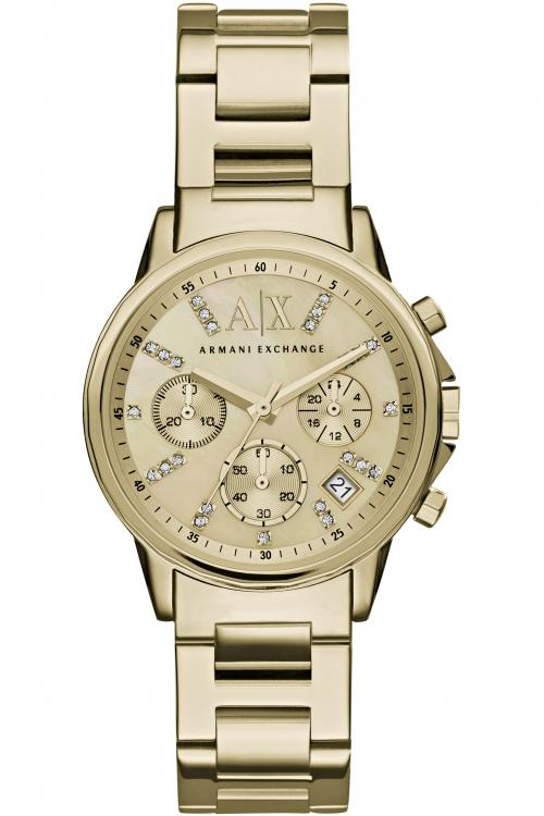 ladies armani exchange chronograph watch ax4327