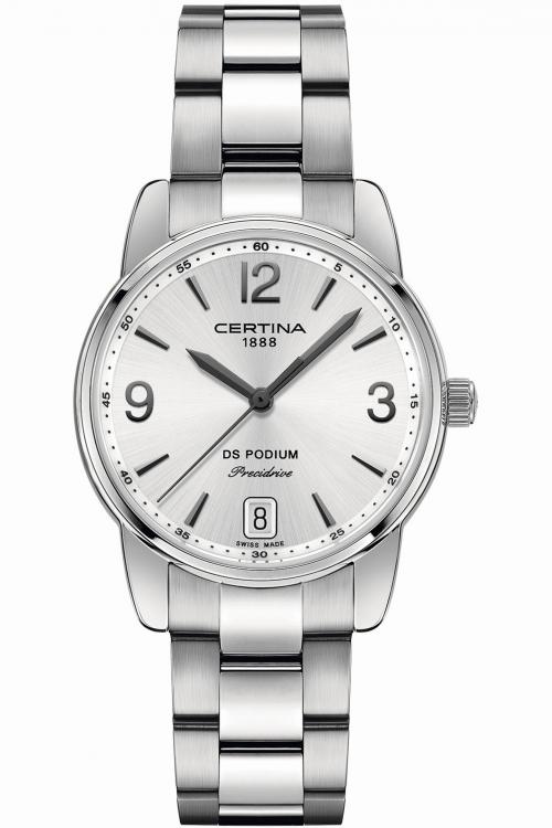 Ladies Certina DS Podium Precidrive Watch C0342101103700