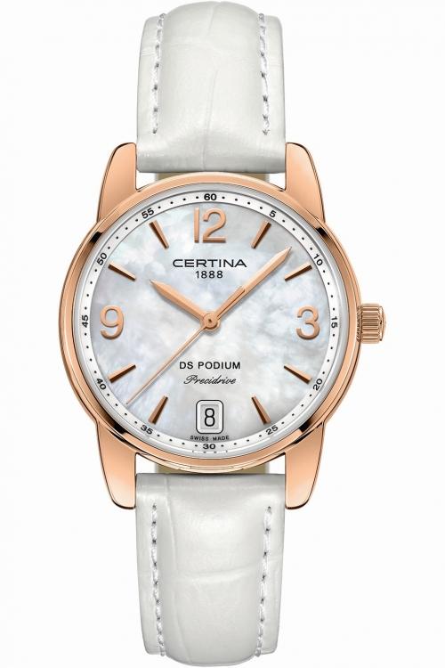 Ladies Certina DS Podium Precidrive Watch C0342103611700
