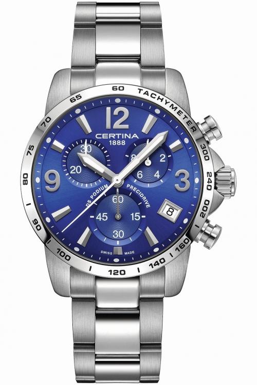 Image of            Mens Certina DS Podium Precidrive Chronograph Watch C0344171104700
