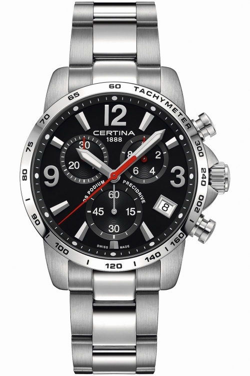 Image of            Mens Certina DS Podium Precidrive Chronograph Watch C0344171105700