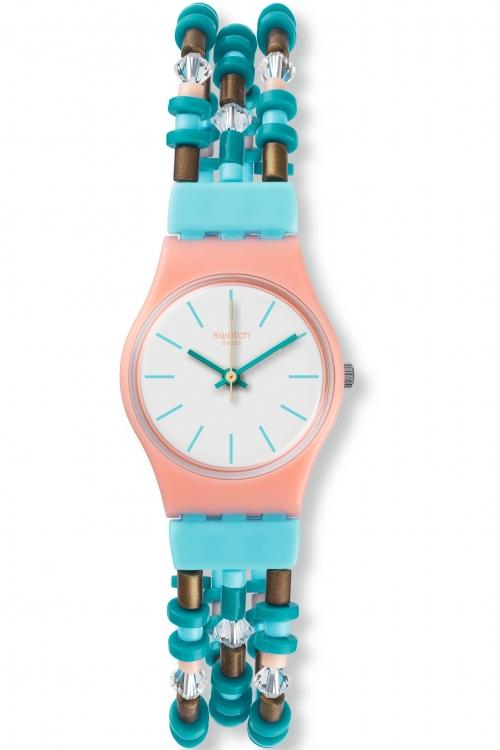 Image of            Ladies Swatch Beadround S Watch LP142B